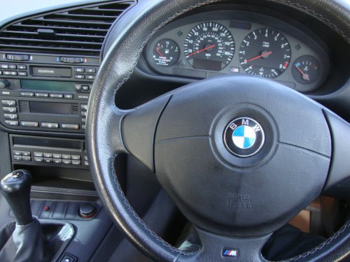 BMW E36 M3 dashboard