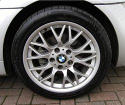 18 inch alloy from the BMW Z8